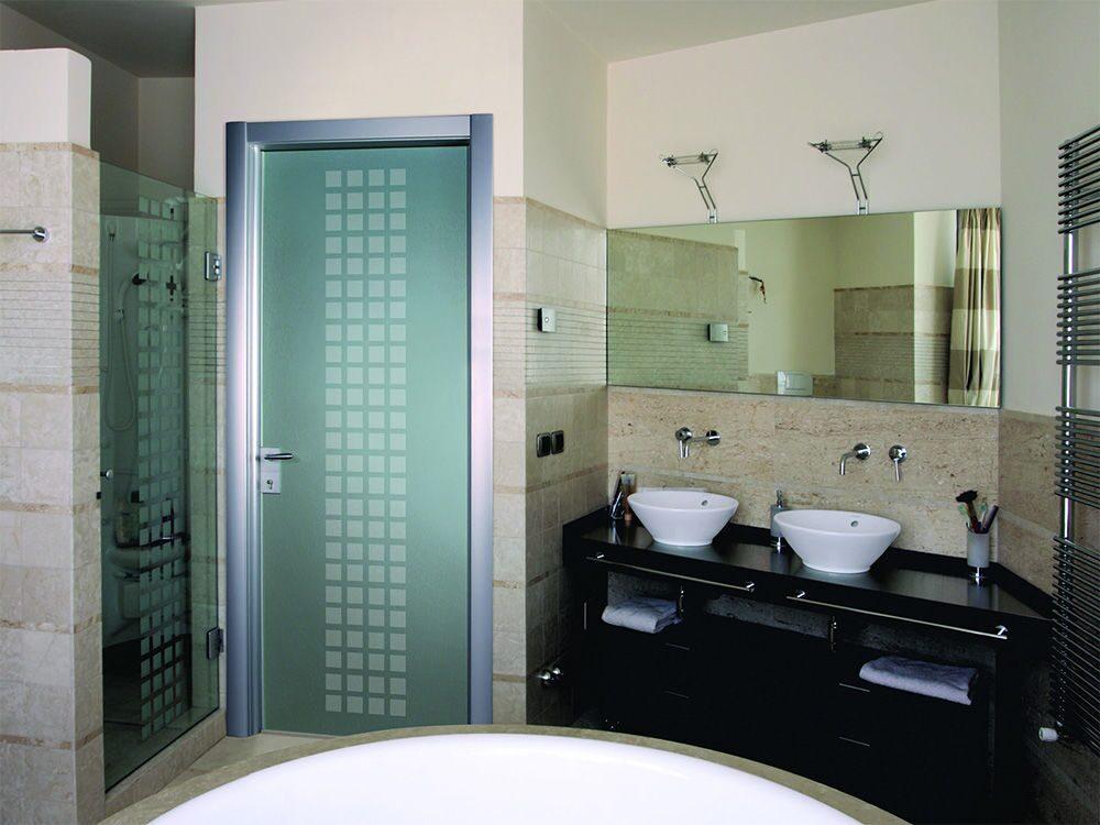 Стеклянные двери для душа, ванной и туалета11