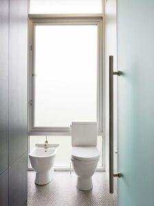 Стеклянные двери для душа, ванной и туалета1