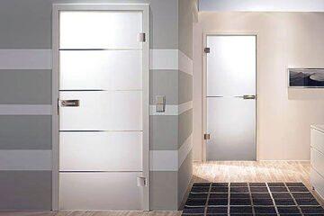Стеклянные двери для душа, ванной и туалета33