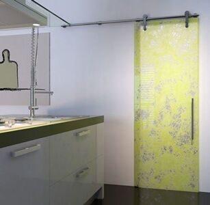 Двери в ванну раздвижные9