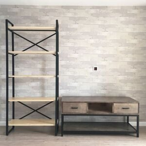American-industrial-wind-furniture-bookshelves-retro-bookcases-iron-loft-shelves-kitchen-racks-solid-wood-partitions-display-stand