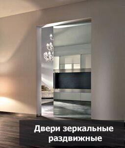 двери зеркальные раздвижные