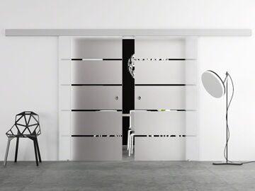 Двери хай–тек раздвижные1