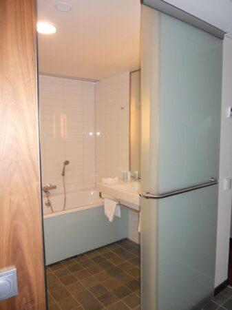 Двери в ванну раздвижные