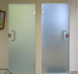 Стеклянные двери для душа, ванной и туалета2