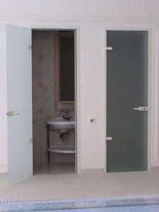 Стеклянные двери для душа, ванной и туалета7